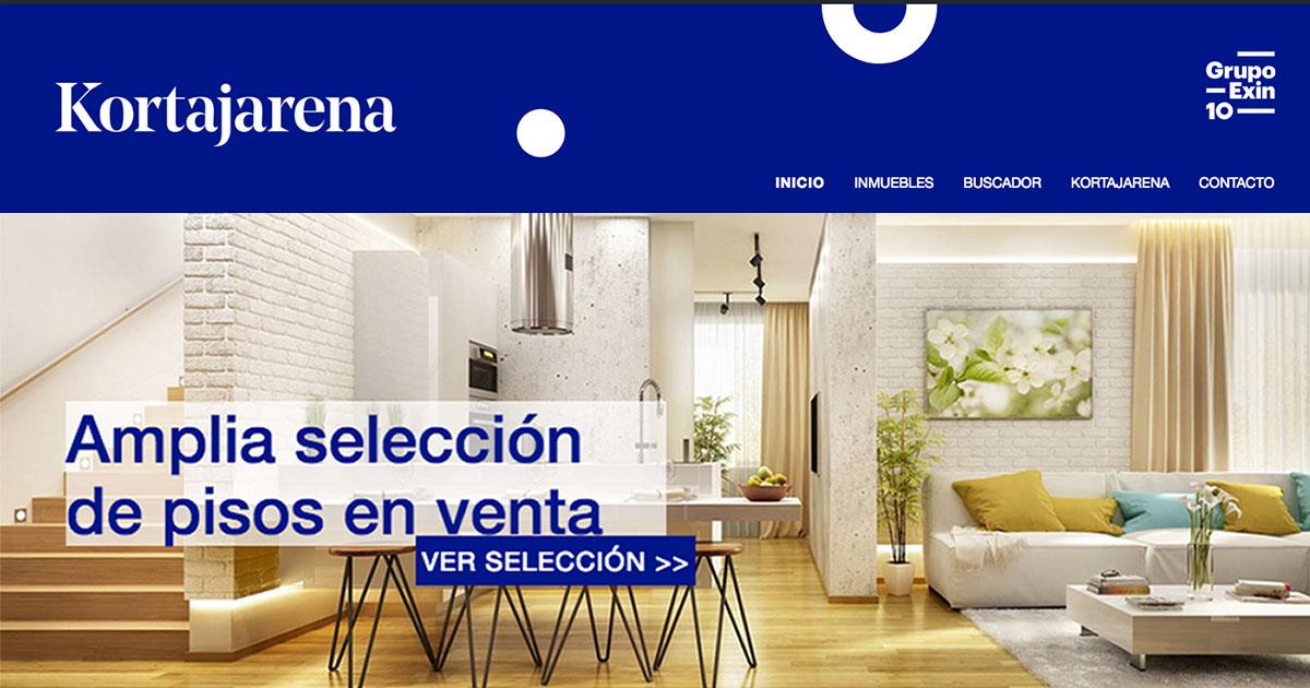 Inmobiliaria kortajarena for Pisos en intxaurrondo